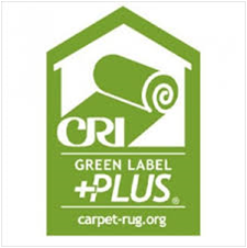 CRI Indoor Air Quaility Carpet Cushion Testing Program Logo - Green Label